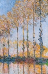 Claude Monet (1840-1926) Poplars, White and Yellow Effect Oil on canvas 1891