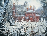 Vasily Igorevich Nesterenko (1967, Russia, Pavlograd) Winter in Vladykino Oil on canvas, 1993 140 x 180 cm