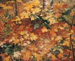 Vasily Igorevich Nesterenko (1967, Russia, Pavlograd) Corner of the autumn forest Oil on canvas, 2000 115 x 140 cm