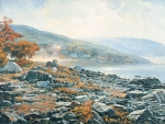 Vasily Igorevich Nesterenko (1967, Russia, Pavlograd) Morning on Mount Athos Oil on canvas, 1999 150 x 200 cm