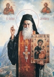 Vasily Igorevich Nesterenko (1967, Russia, Pavlograd) Athos Elder Oil on canvas, 1998 150 x 110 cm