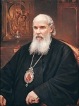 Vasily Igorevich Nesterenko (1967, Russia, Pavlograd) Portrait of Patriarch Alexy II Oil on canvas, 2000 100 x 80 cm
