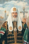 Vasily Igorevich Nesterenko (1967, Russia, Pavlograd) Patriarch of Moscow and All Russia Alexy II Oil on canvas, 1996 135 x 100 cm