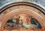 Vasily Igorevich Nesterenko (1967, Russia, Pavlograd) Epiphany Oil, 2000 540 x 1230 cm North tympanum of Christ the Savior