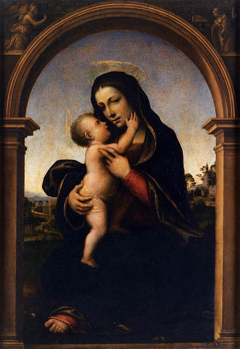Virgin and Child  c. 1512  Panel, 51 x 35 cm  Pinacoteca Manfrediana, Venice