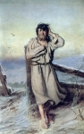 Perov Vasily Grigorevich (1833-1882) Blessed Oil on canvas,1879 153103 cm The State Tretyakov Gallery, Moscow, Russia