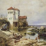 Vasily Dmitrievich Polenov (1844�1927)  Beirut, 1882  Oil on canvas  The Tretyakov Gallery, Moscow, Russia
