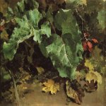 Vasily Dmitrievich Polenov (1844—1927)  Burdock, 1870-s  Oil on canvas  The Tretyakov Gallery in Moscow, Russia