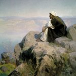 Vasily Dmitrievich Polenov (1844�1927)  Dreams (The Mount), 1890-1900-s  Oil on canvas  The State Russian Museum, St. Petersburg, Russia