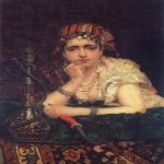 Vasily Dmitrievich Polenov (1844�1927)  Odalisque, 1875  Oil on canvas