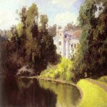 Vasily Dmitrievich Polenov (1844�1927)  Pond in the Park. Olshanka, 1877  Oil on canvas  The Tretyakov Gallery, Moscow, Russia