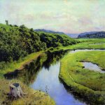 Vasily Dmitrievich Polenov (1844�1927)  River Klyazma. Zhukovka, 1909  Oil on canvas  Nizhny Novgorod State Art Museum, Russia