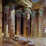 Vasily Dmitrievich Polenov (1844�1927)  The Temple of Isis, 1882  Oil on canvas  The Tretyakov Gallery, Moscow, Russia