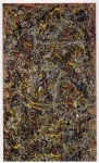 Paul Jackson Pollock (January 28, 1912 – August 11, 1956) No. 5, 1948 Oil on fiberboard, 1948 2.4 m × 1.2 m (8 ft × 4 ft) Private collection