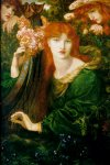 Dante Gabriel Rossetti (1828-1882)  La Ghirlandata  Oil on canvas, 1873  87.6 x 115.6 cm (34.49