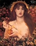 Dante Gabriel Rossetti (1828-1882)  Venus Verticordia  Oil on canvas, 1864-1868  69.9 x 98 cm (27.52