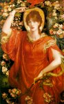 Dante Gabriel Rossetti (1828-1882)  A Vision of Fiammetta  Oil on canvas, 1878  89 x 146 cm (35.04