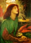 Dante Gabriel Rossetti (1828-1882)  Beata Beatrix  Oil on canvas, 1864-1870  69.3 x 87.5 cm (27.28