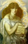 Dante Gabriel Rossetti (1828-1882)  Pandora  Watercolour, 1879  Private collection
