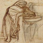 Dante Gabriel Rossetti (1828-1882)  Sketch For Dante At Verona, With A Preliminary Study For The Principal Figure  Pencil  27 x 23 cm (10.63