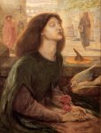 Dante Gabriel Rossetti (1828-1882)  Beata Beatrix  Oil on canvas, c1877-c1882  68.3 x 86.8 cm (26.89