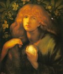 Dante Gabriel Rossetti (1828-1882)  Mary Magdalen  Oil on canvas, 1877  Public collection