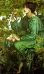 Dante Gabriel Rossetti (1828-1882)  The Day Dream  Oil on canvas, 1880  92.7 x 157.5 cm (3' x 5' 2.01