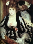 Pierre Auguste Renoir (1841-1919) La Loge Oil on canvas 1874 Courtauld Institute Galleries (London, United Kingdom)