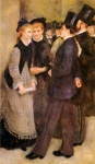 Pierre Auguste Renoir (1841-1919) Leaving The Conservatoire Oil on canvas 1877 117.5 x 187.3 cm (3' 10.26