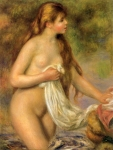 Pierre Auguste Renoir (1841-1919) Bather with Long Hair Oil on canvas c1895 65 x 82 cm (25.59