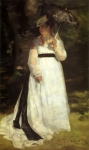Pierre Auguste Renoir (1841-1919) Lise with Umbrella Oil on canvas 1867 115 x 184 cm (3' 9.28