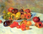 "Pierre Auguste Renoir (1841-1919) Fruits from the Midi Oil on canvas 1881 65.3 x 50.7 cm (25.71"" x 19.96\"") Art Institute of Chicago (Chicago, Illinois, United States)"
