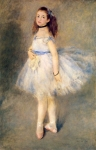 "Pierre Auguste Renoir (1841-1919) The Dancer Oil on canvas 1874 94 x 142 cm (3\' 1.01"" x 4\' 7.91\"") Widener Collection, National Gallery of Art (Washington, D.C., United States)"