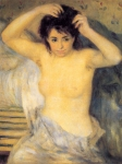 "Pierre Auguste Renoir (1841-1919) Torso: Before the Bath Oil on canvas c1873-c1875 63 x 81.5 cm (24.8"" x 32.09\"") The Barnes Foundation (Merion, Pennsylvania, United States)"