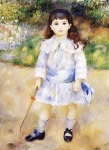 Pierre Auguste Renoir (1841-1919) Child with a Whip Oil on canvas 1885 Private collection
