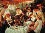 Pierre Auguste Renoir (1841-1919) The Boating Party Lunch Oil on canvas 1881 Private collection
