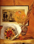 Pierre Auguste Renoir (1841-1919) Still Life With Bouquet Oil on canvas 1871 58.9 x 73.3 cm (23.19