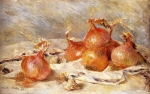 "Pierre Auguste Renoir (1841-1919) Onions Oil on canvas 1881 60.6 x 39.1 cm (23.86"" x 15.39\"") Private collection"