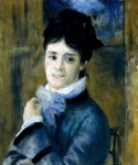 Pierre Auguste Renoir (1841-1919) Madame Claude Monet (Camille) Oil on canvas 1872 Private collection