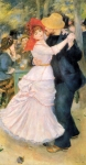 "Pierre Auguste Renoir (1841-1919) Dance at Bougival Oil on canvas 1882-1883 98 x 182 cm (3\' 2.58"" x 5\' 11.65\"") Museum of Fine Arts (Boston, United States)"
