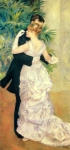"Pierre Auguste Renoir (1841-1919) Dance in the City Oil on canvas 1883 90 x 180 cm (35.43"" x 5\' 10.87\"") Musee d\'Orsay (Paris, France)"