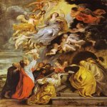 Peter Paul Rubens (1577 – 1640)  Assumption of the Virgin Mary  Oil on panel, 1626  National Gallery of Art, Washington, D.C., USA