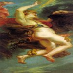 Peter Paul Rubens (1577 – 1640)  The abduction Ganimede  (steam for the painting