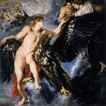 Peter Paul Rubens (1577 – 1640)  The abduction Ganimede  Îil on canvas, 1611-1612  203 x 203 cm  Schwarzenberg Palace, Vienna, Austria