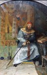 Ryzhenko Pavel Viktorovich  Tsar Alexei Mikhailovich Quietest. 2006  Oil on canvas   280x180 cm  Private collection