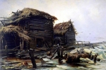 Ivan Ivanovich Shishkin (1832 – 1898)   Abandoned mill    Oil on canvas, 1890   160 x 235 cm