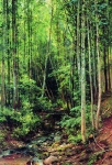 Ivan Ivanovich Shishkin (1832 – 1898)   Aspen forest.   Oil on canvas, 1896   119 x 84 cm