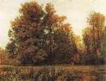 Ivan Ivanovich Shishkin (1832 – 1898)   Autumn.   Oil on canvas, 1892   82 x 108 cm