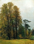 Ivan Ivanovich Shishkin (1832 – 1898)   Autumn.   Oil on canvas, 1892   107 x 81 cm