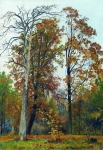 Ivan Ivanovich Shishkin (1832 – 1898)   Autumn.   Oil on canvas, 1894   56.5 x 40 cm